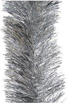 Decoris kerstslinger - 10 x 270 cm - Folie lametta - Zilver