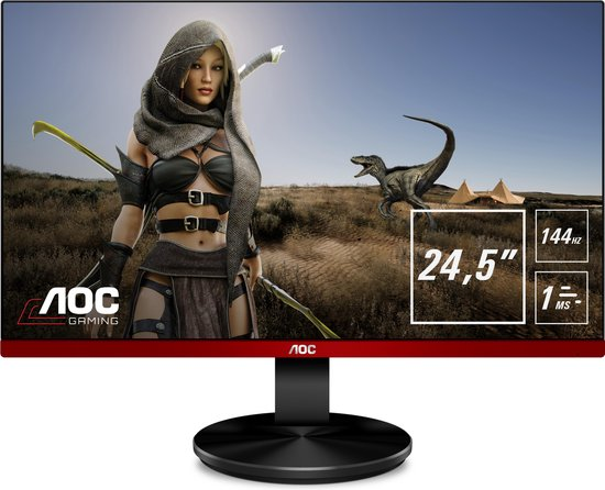 AOC G2590PX - Full HD TN Gaming Monitor - 144hz - Gaming monitor 200 euro