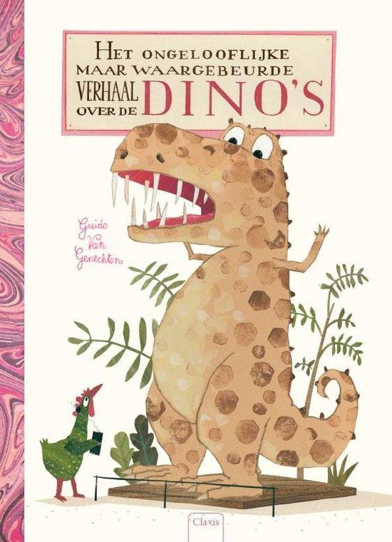 Boek cover Het ongelooflijke maar waargebeurde verhaal over de dinos van Guido Genechten (Hardcover)