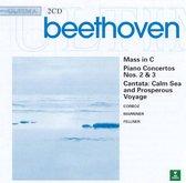 Beethoven: Mass in C, etc / Corboz, Marriner, et al