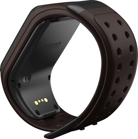 TomTom Spark GPS Sport- en Fitnesshorloge  - Donkerbruin - Large - TomTom
