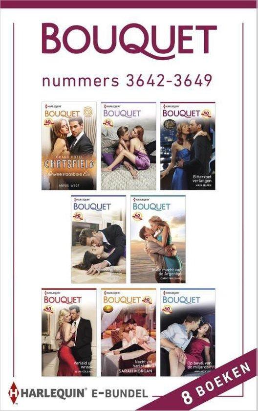 Bouquet e-bundel nummers 3642-3649, 8-in-1 - Annie West |