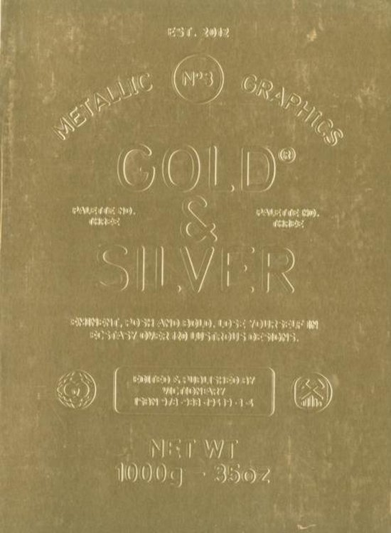Palette 03: Gold & Silver - Metallic Graphics