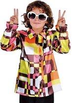 Retro 70s blouse voor kinderen 116