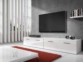 TV Meubel Diana 2 - Wit - 200 cm