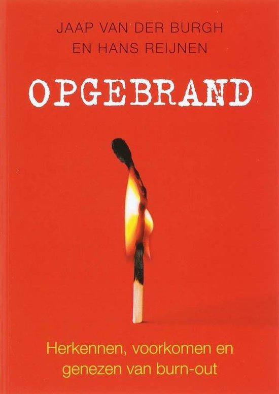 Opgebrand - Jaap van der Burgh |