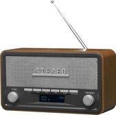 Denver DAB-18 - Retro DAB+ radio met Bluetooth - Hout