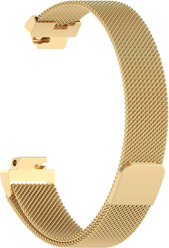 YONO Milanees bandje - Fitbit Inspire (HR) - Goud - Small