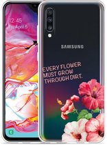 Galaxy A70 Hoesje Every Flower