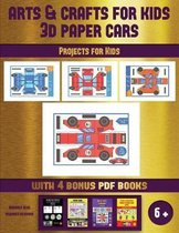 Projects for Kids (Arts and Crafts for kids - 3D Paper Cars)