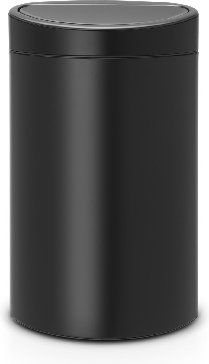 Brabantia Touch Bin Prullenbak - 40 l - Matt Black