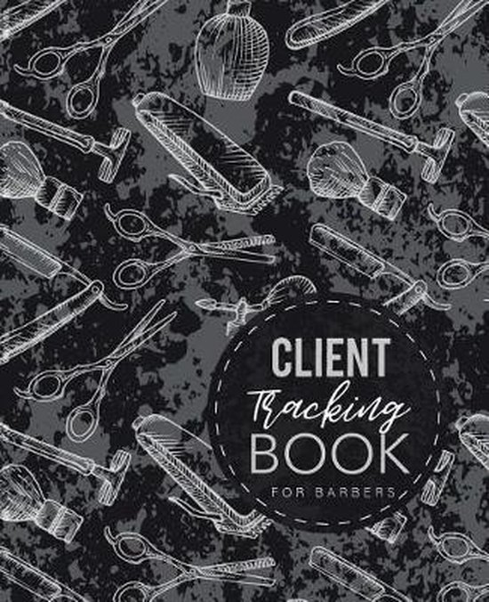 Client Tracking Book for Barbers