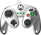 Nintendo Super Smash Bros - Gaming Controller - Mario Zilver - Nintendo Wii U + Nintendo Wii