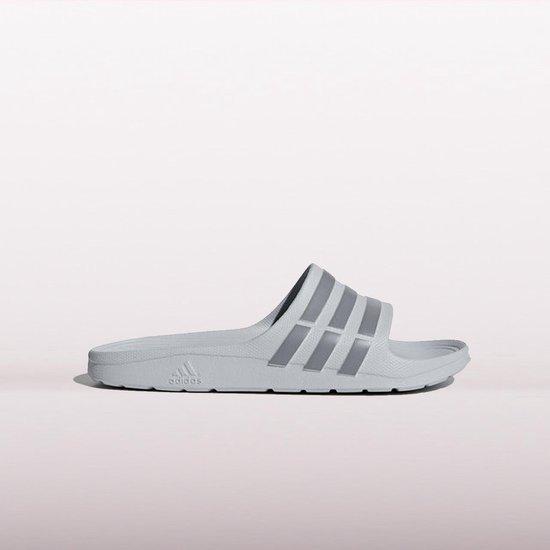 bol.com | ADIDAS Duramo Slide Slippers Heren - Grijs - Maat 11