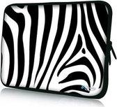 Sleevy 15,6 inch laptophoes zebra - laptop sleeve
