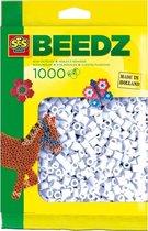 SES Beedz Strijkkralen - 1000 Stuks - Wit (00700)