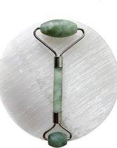 Jade Roller Gezichtsmassage Roller - Groen - Vernieuwd