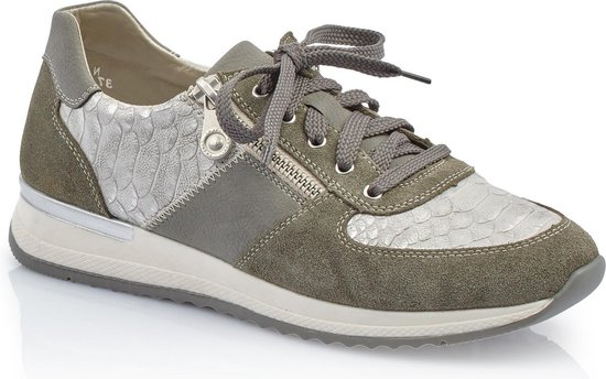 Rieker Sneakers groen - Maat 37