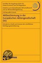 Mitbestimmung in Der Europaischen Aktiengesellschaft (Se)
