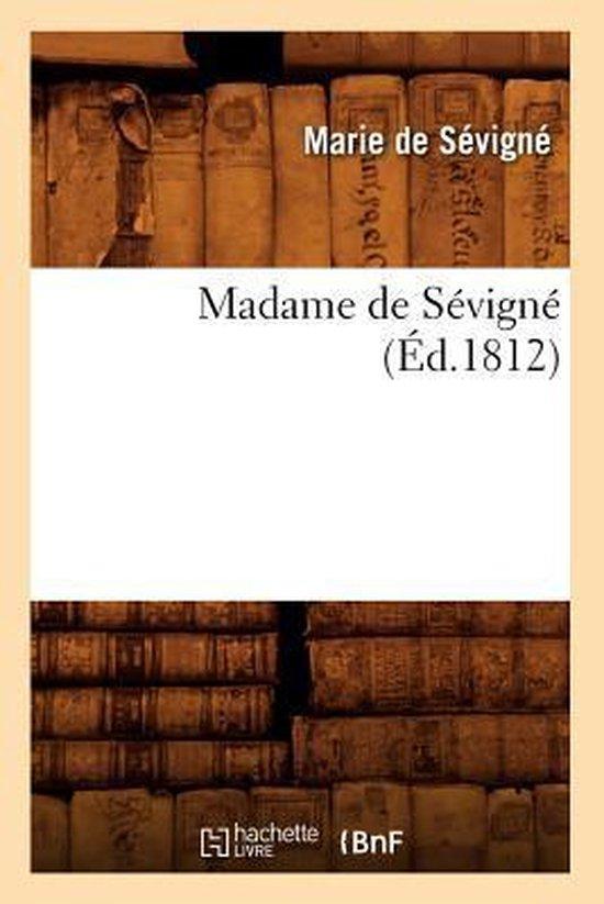 Madame de S vign ( d.1812)