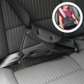 Auto Gordel Beschermer - Gordelhoes - Kind Nek Bescherming - 1 stuk - Zwart