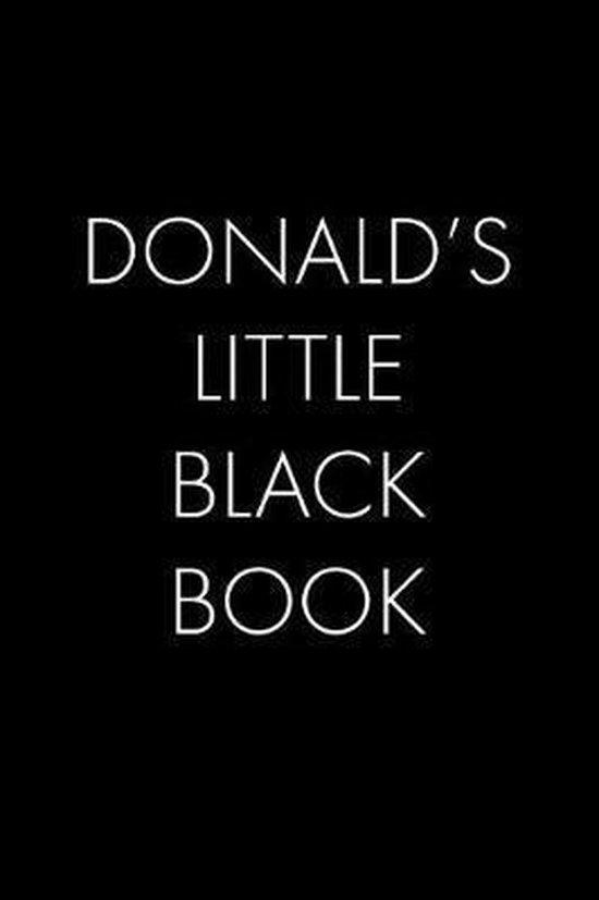 Donald's Little Black Book