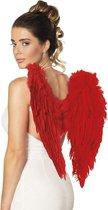 Halloween Engelenvleugels gevouwen - Rood