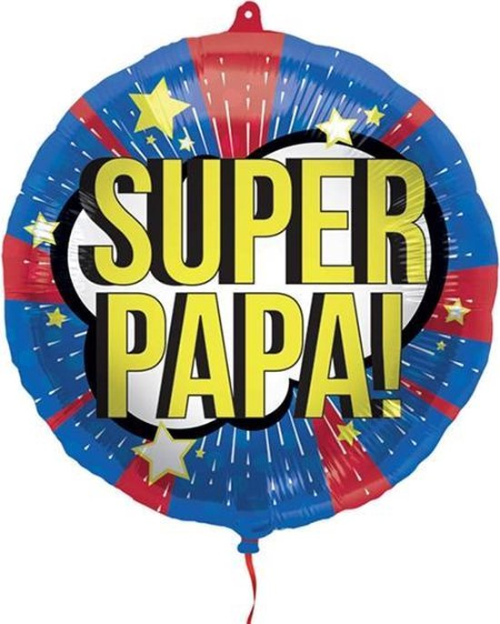 18In/45cm Super Papa! Packed