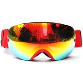 Skibril Small / wintersport (rood) met polariserende glazen - Brand New!
