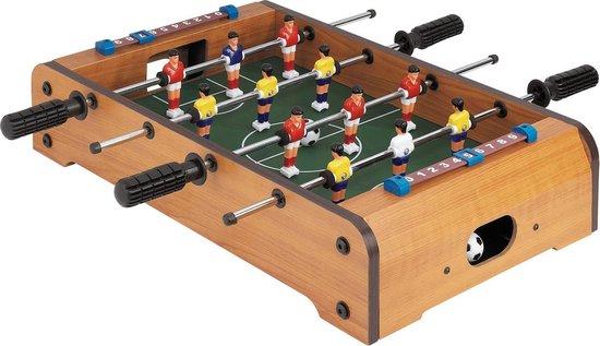 Afbeelding van het spel Mini Tafelvoetbal 33x21cm Voetbaltafel