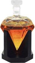 MikaMax Whiskey Karaf - 0,9 L - Diamant vorm
