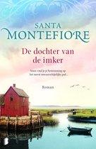 Boek cover De dochter van de imker van Montefiore, Santa