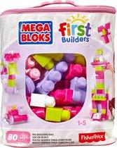 Mega Bloks First Builders Blokkentas Roze