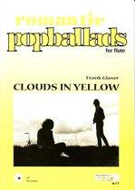 CLOUDS IN YELLOW  <br /><br />Dwarsfluit, fluit, izis, bladmuziek met cd, play-along, bladmuziek voor dwarsfluit., romantisch