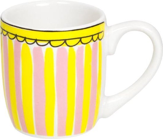 Blond Amsterdam - Even Bijkletsen - Espresso kopje - Stripe - 50 ml