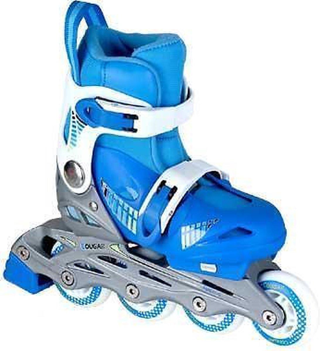 Inline Skates Cougar maat 30-33 Blauw