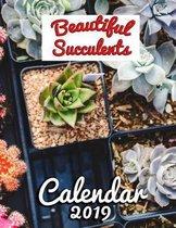 Beautiful Succulents Calendar 2019