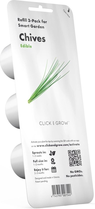 Click and Grow refill szczypiorek 3-pak