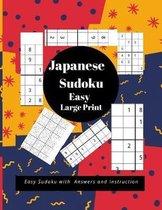 Japanese Sudoku Easy Large Print