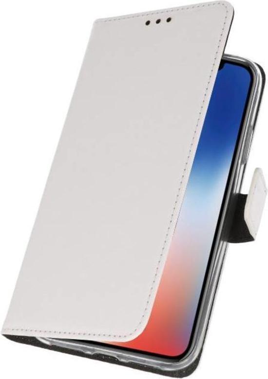 Bestcases Pasjeshouder Telefoonhoesje iPhone Xs - iPhone X - Wit