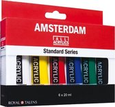 Amsterdam Standard acrylverf 6 tubes 20ml