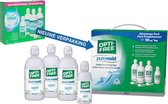 Optifree PureMoist - 3 x 300 ml + 90 ml - Lenzenvloeistof