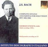 Bach: Complete Sonatas and Partitas for Solo Violin, BWV 1001-1006