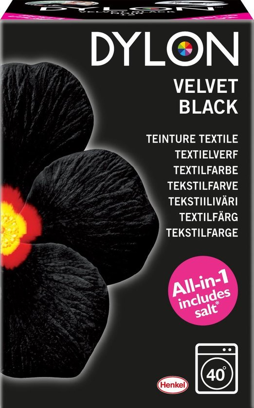 Afbeelding van DYLON Textielverf - Velvet Black - wasmachine - 350g speelgoed