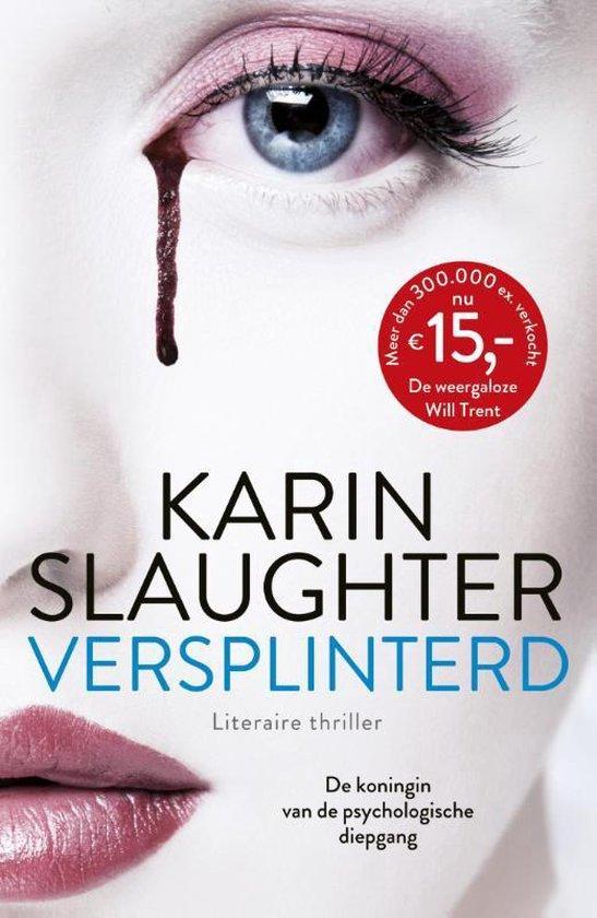 Boek cover Versplinterd van Karin Slaughter