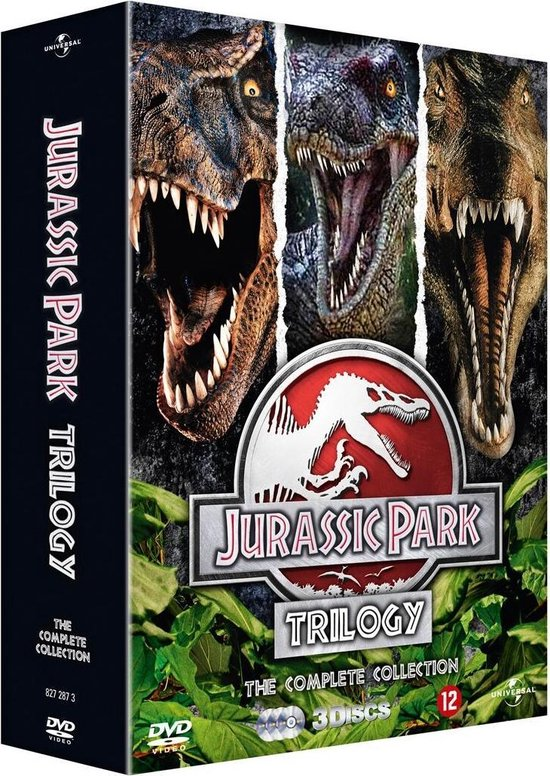 Cover van de film 'Jurassic Park Trilogy'