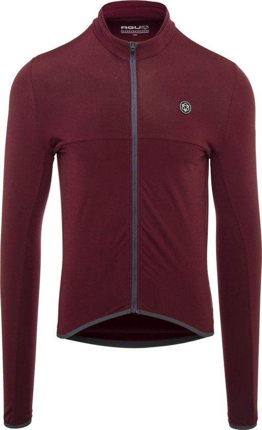 AGU Shirt Lange Mouw Essential Thermo Windsor Wine