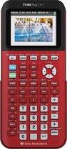 Afbeelding van Texas Instruments TI-84 Plus CE-T - Kleurenscherm - Rood (Goedgekeurd voor examens wiskunde nieuwe stijl vanaf examens havo 2018 en vwo 2019)