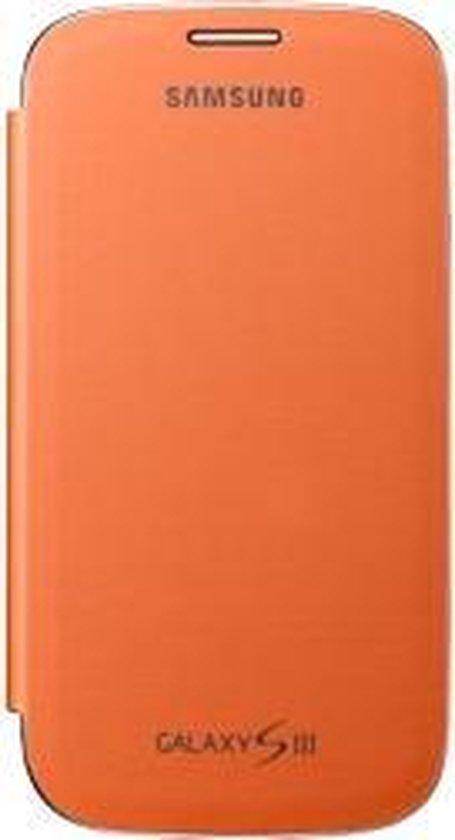 Bol Com Samsung Flip Cover Voor De Samsung Galaxy S3 Oranje