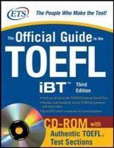 Boek cover The Official Guide to the TOEFL iBT with CD-ROM, Third Edition van Educational Testing Service